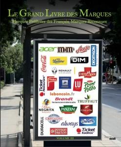 Couverture Le Grand Livre des Marques 2015
